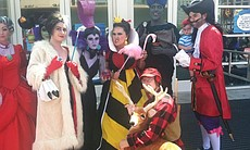 Disney villains get the cosplay treatment at Comic-Con, July 25, 2014.