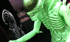 Two-foot glow in the dark Alien from Gentle Giant. Only $499 but going on eBay for $750 already.