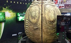 The Alien egg experience at Comic-Con.
