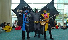 Batman and Mortal Kombat mariachi. What is not to like about this!