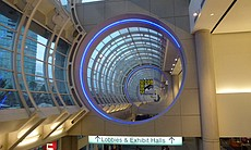 A sign for Comic-Con 2014 is pictured at the San Diego Convention Center.