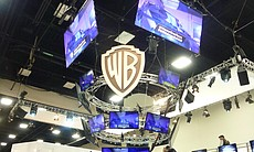 And the Warner Brothers booth.