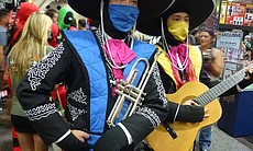 The Mortal Kombat Mariachi without Batman.