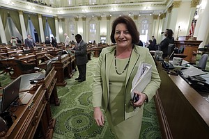 That's Governor Toni Atkins — At Least For One Day