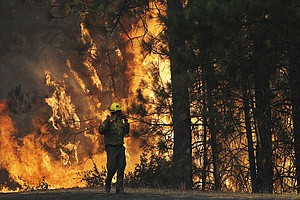 Man Charged With Starting Massive Rim Fire In California
