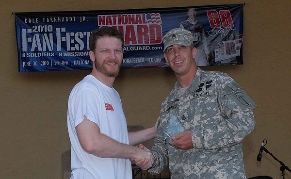 National Guard presents Dale Earnhardt Jr. Fan Fest 2010