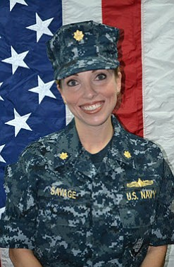 Lt. Cmdr. Destiny Savage