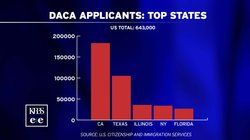 The five states where the most young immigrants have signed up for a federal ...