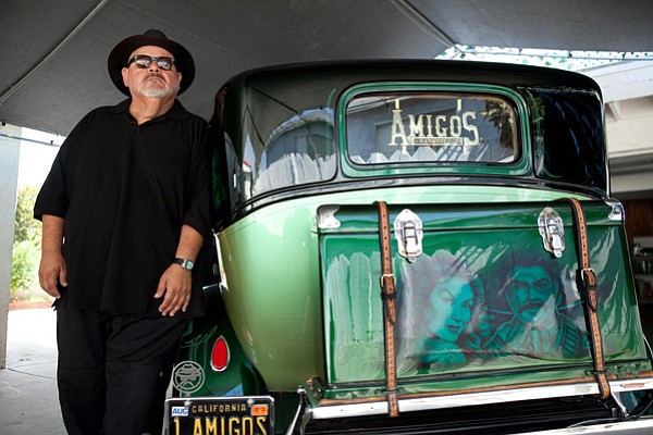 Rigo Reyes, long-time member of the Amigos Car Club and member of the San Diego Lowriding Council.