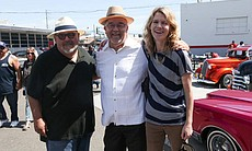 Producer Rigo Reyes, director Alberto López Pulido and producer, editor, photographer Kelly Whalen.