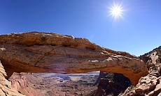 This cinematic journey through the breathtaking scenery of the American West's iconic red rock country includes Mesa Arch in Canyonlands National Park.