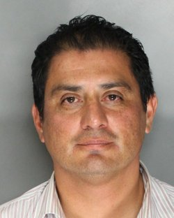 Booking mug of state Sen. Ben Hueso, D-San Diego, Aug. 22, 2014. He was arrested by the California Highway Patrol on suspicion of driving under the influence.