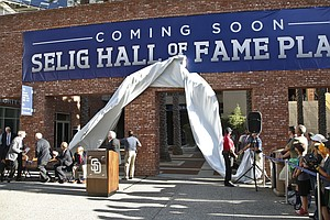 San Diego Padres Hall Of Fame Christening Falls Flat