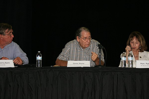 Edison's Citizens' Engagement Panel members: Gene Stone, environmental watchd...