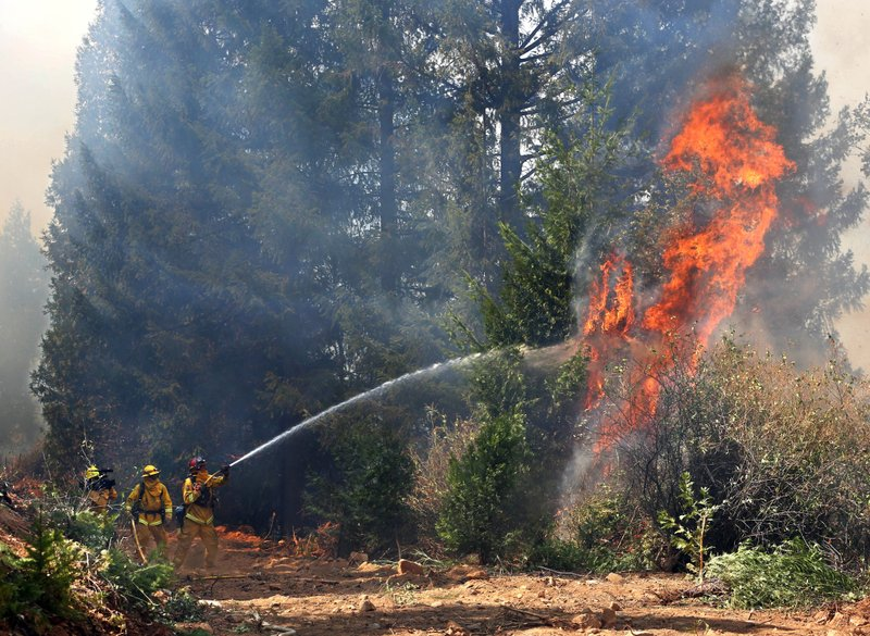 Man Arrested In Fast Growing Wildfire Northern California