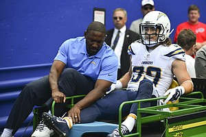 San Diego Chargers Running Back Danny Woodhead Out For Year