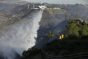 Third Firefighting Helicopter OK'd By San Diego County Supervisors