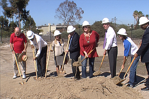 City Breaks Ground On One Of Two City Heights Skate Parks