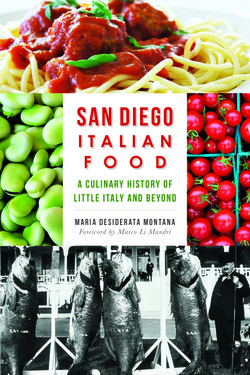 Book: San Diego Italian Food: A culinary history of Little Italy and Beyond