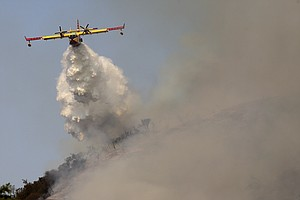 Air Tanker Crashes While Fighting Fire Near Yosemite Park