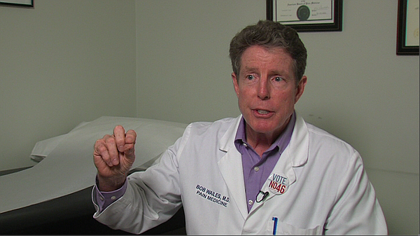 Dr. Robert Wailes, a pain specialist in Encinitas, thinks...