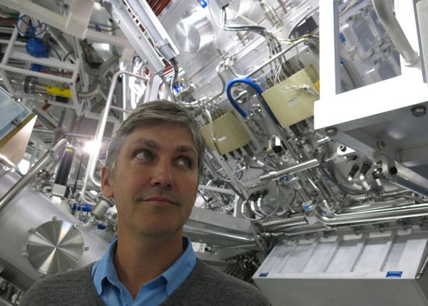 Steven Johnson at National Ignition Facility near San Fra...