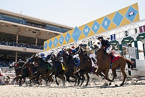 Del Mar's Horse Racing Season Begins In The Shadow Of San...
