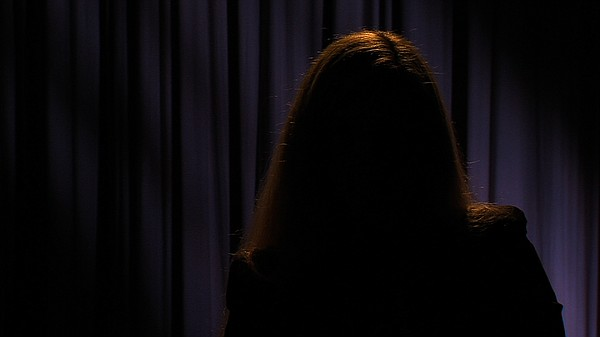 Portrait of sexual assault survivor. KPBS agreed to prote...