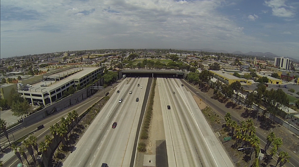CalTrans extended Interstate 15 through City Heights. Res...