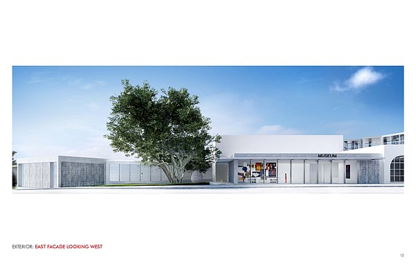 The proposed new entrance to the Museum of Contemporary A...