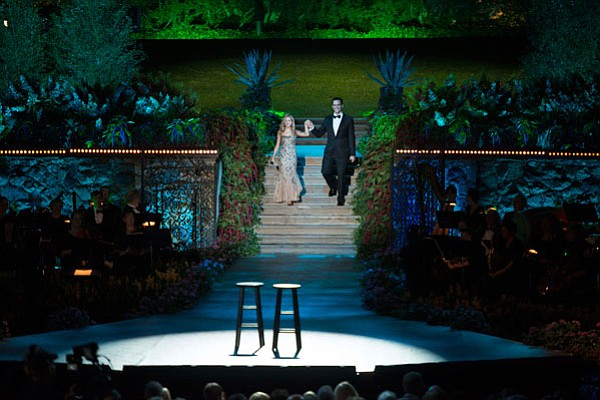 Jackie Evancho performs with Cheyenne Jackson in the Long...