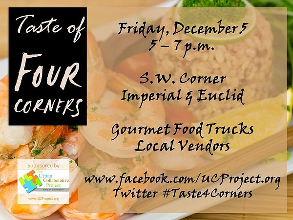 A flier for the Taste of Four Corners food market at the ...