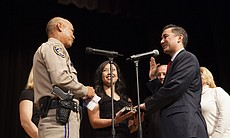Chris Cate gets sworn in as a San Diego city co...