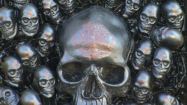Forty-Three Skulls by Optimus Volts. The piece will be sh...