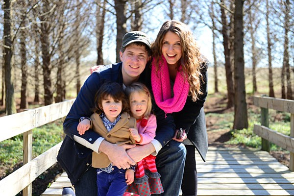 Ben, Vivian and the twins pictured on their 2013 holiday ...
