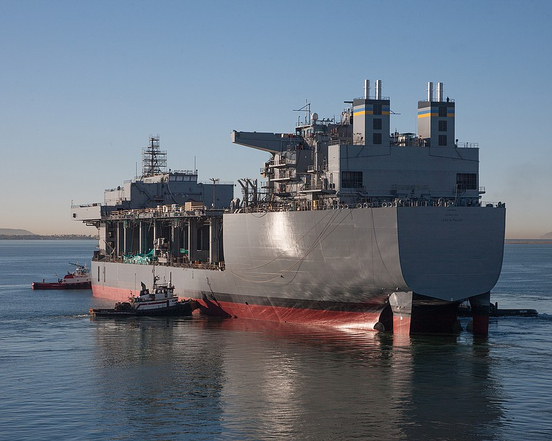 San Diego's NASSCO Gets $498M Navy Contract For Mobile