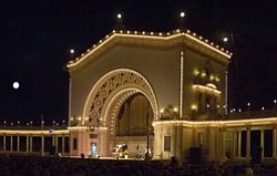 Shown in the photo is the Spreckles Organ Pavillion in Ba...