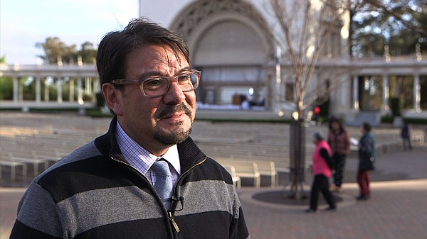 Michael Ruiz, the city's district manager for Balboa Park...