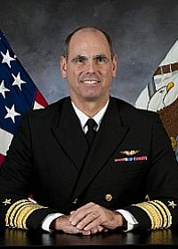 Photo caption: Vice Adm. David Buss is seen in this undated photo.