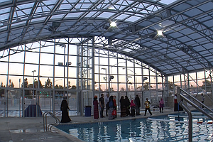 Glass Pool Enclosure At New Mid-City YMCA Poses Problem For Muslim Swimmers
