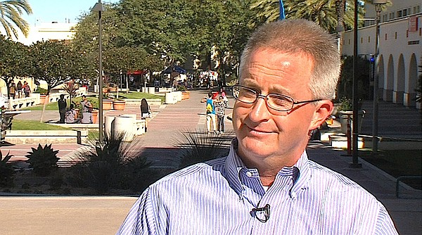 San Diego State professor of accounting Steven Gill, Feb....