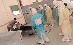 Health workers in LIberia are trained by Project Concern International staff ...