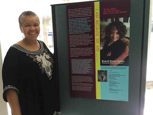 In honor of Black History Month, Lewis curated an exhibit...