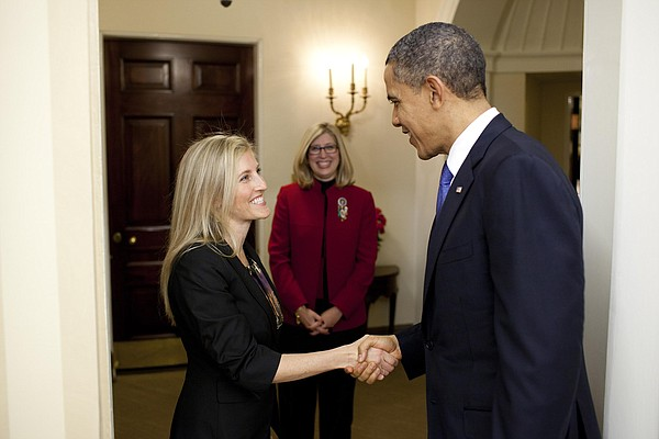 In 2012, Fisler met U.S. President Barack Obama, when she was honored with th...
