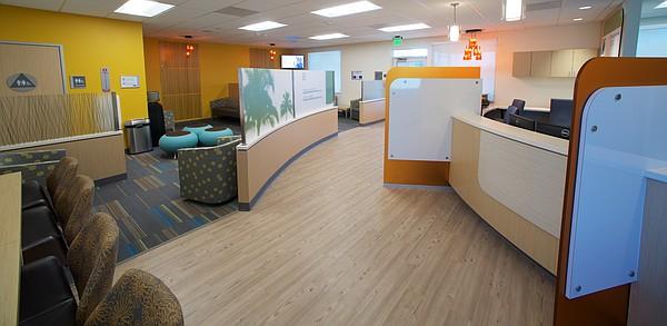 The lobby of the El Centro Planned Parenthood is pictured...