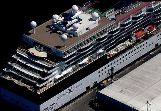 Cruise Ship Docks In San Diego After People Fall Ill KPBS - Where do cruise ships dock in san diego