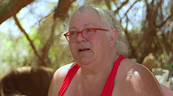 Slab City resident Lynne Bright talks about efforts to buy the Imperial Count...