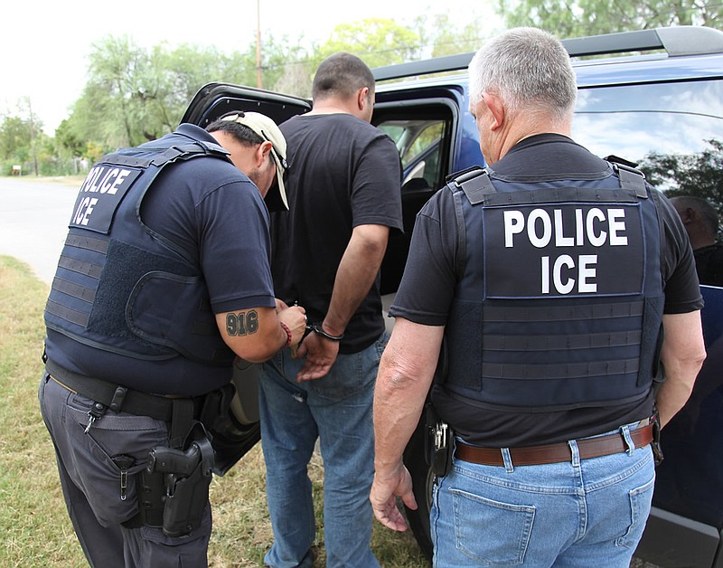 Detaining  >> Ice Under Fire For Detaining Too Few Immigrants Kpbs