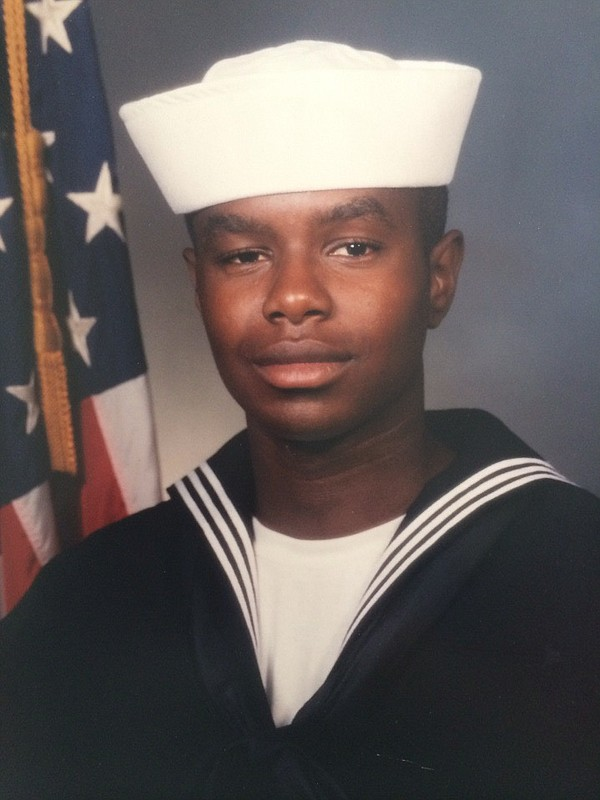 Portrait of Navy Petty Officer 3rd Class Gillenwater