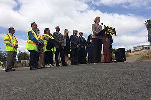 San Diego Mayor Shows Off Latest Street Repairs, Promises...